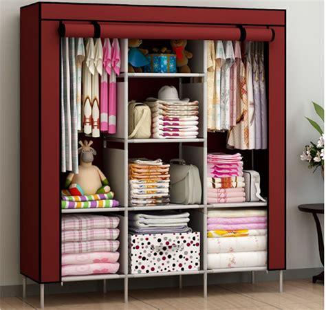 portable bedroom furniture clothes wardrobe closet