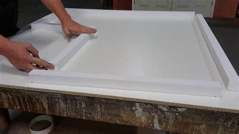 small concrete countertop form  foam