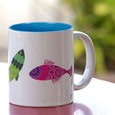 kuheli colourful fish coffee mug buy kuheli colourful