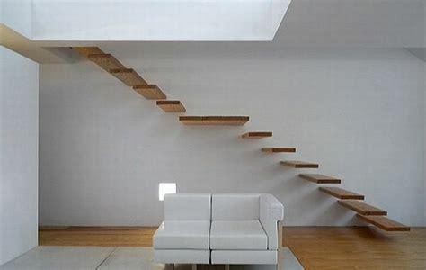 Treppe An Der Wand by Freitragende Treppe Coole Ideen Archzine Net