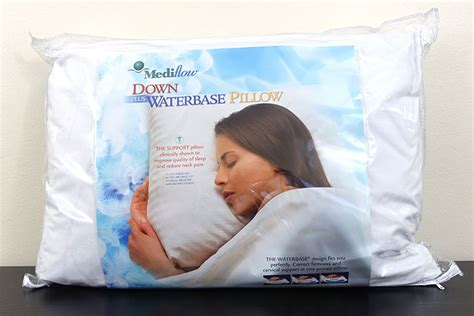 mediflow waterbase pillow the best water pillow for back side and stomach sleepers