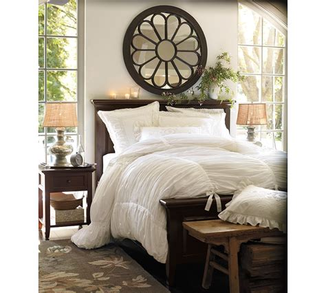 Fussy Monkey Business Pottery Barn's Hadley Ruched Duvet