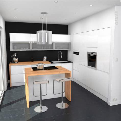 cuisine ikea blanc brillant les 95 meilleures images à propos de cuisine équipée ouverte oskab sur armoires