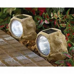 2 rock solar lights 158838 solar outdoor lighting at With outdoor solar lights rocks