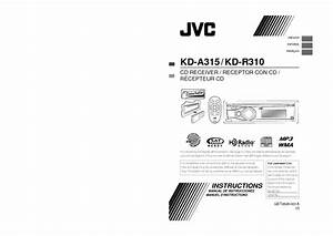 Kd-r310 Manuals