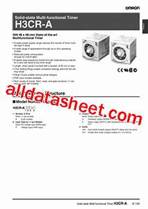 H3cr-a8-301 Datasheet Pdf