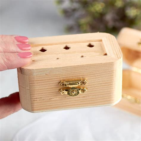 small unfinished wood chest wood craft kits wood