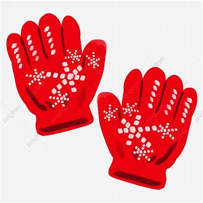 Gloves Glove Clipart Winter Painted Upgrade Psd