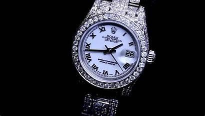 Rolex Diamond Ladies Bracelet Datejust Roman Dial
