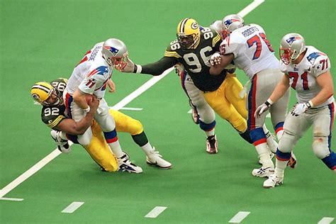 21 Years Ago The Packers Beat The Patriots 35 21 To Win