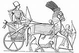 Chariot Coloring Template Pages Wikipedia Ancient Egyptian sketch template