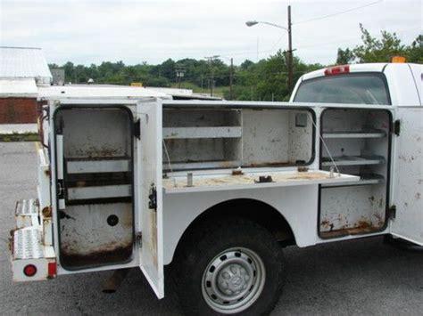 Knapheide Utility Bed by Purchase Used Clean Knapheide Utility Bed Fleet Maintained