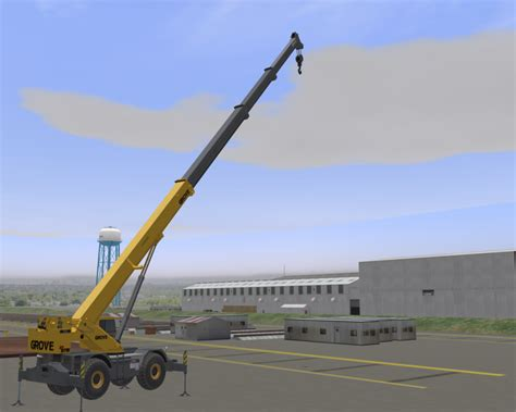 Port & Construction Crane Simulator Models