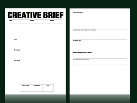 Creative Brief Template Creative Brief Template From M C Saatchi Account