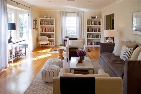 Long Narrow Living Room Combo