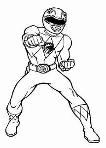 Coloring Pages Power Rangers Power Ranger Printable ...