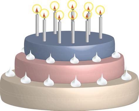 Geburtstagstorte Kerzen Geburtstag · Kostenlose