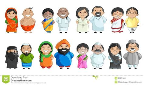 Traditional Indian Dress Clipart