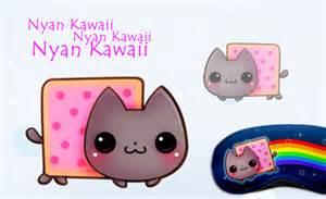 kawaii cat cats nyan cat and search on