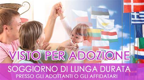 ingresso in italia visto d ingresso per adozione in italia