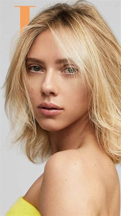 Scarlett Johansson Photoshoot Elle Wallpapers Blonde Actress