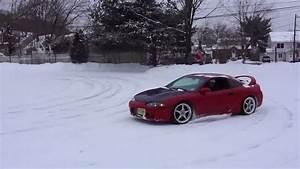 1995 Eclipse Gsx Highway Pull  Snow Fun