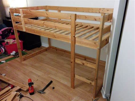 Mydal Bunk Bed by Turn A Mydal Bunkbed Into A Kura Loft Bed Ikea Hackers