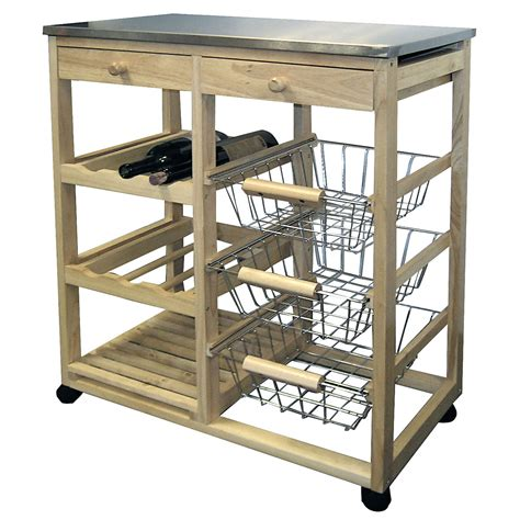 wood kitchen island cart rolling wood kitchen cart in kitchen island carts