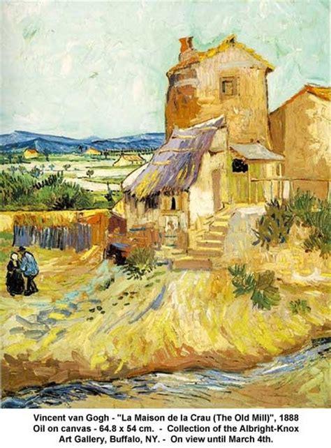vincent gogh la maison de la crau and crafts