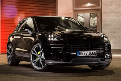 Porsche Parts by Porsche Macan Powered And Styled Up With Techart Parts