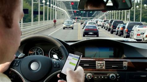 report texting  driving