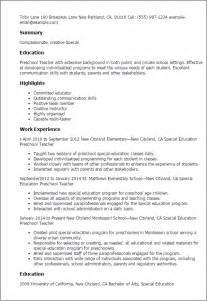 resume templates sles free nursery teacher resume sales teacher lewesmr