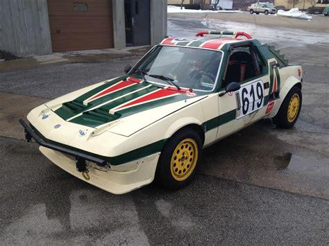 Alfa Romeo Race Car by 1986 Fiat Bertone X 1 9 Alfa Romeo Motor Race Car For