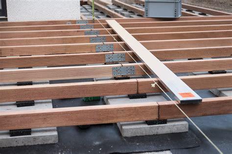 Untergrund Terrasse Holz by Terrasse Holz Verlegen Abstand Bvrao