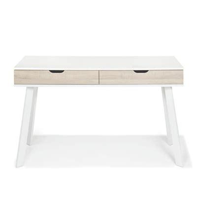 bureau simple blanc consoles consoles tables chaises décoration intérieur