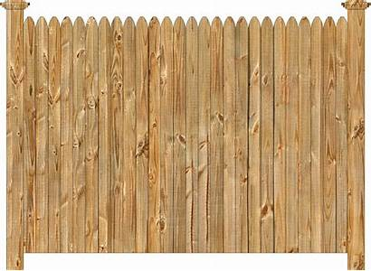 Fence Wood Privacy Cedar Straight Section Solid