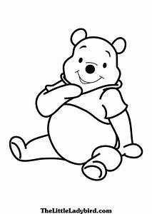 Free Winnie the pooh coloring page | TheLittleLadybird.com