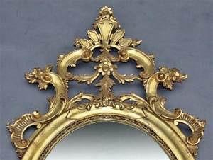 Grand Miroir Baroque : grand miroir baroque en bois dor poque art d co vers 1940 ~ Teatrodelosmanantiales.com Idées de Décoration