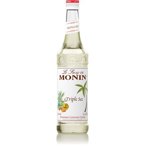Monin Triple Sec Syrup   750 ml Bottle: BaristaProShop.com