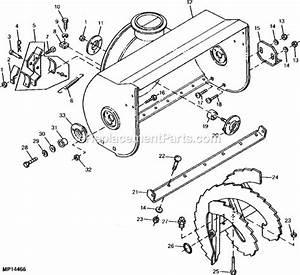 John Deere 1032 Parts