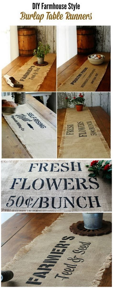 farmhouse style table runners 20 gorgeous diy projects for your farmhouse decoration