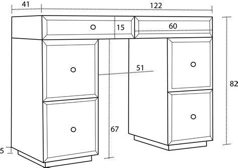 dimensions bureau augusta bureau console miroir mobilier moss