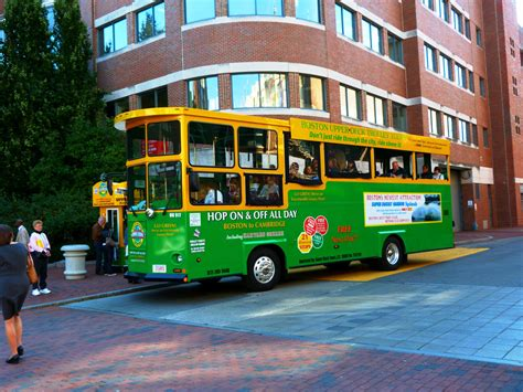 boston deck trolley tours map boston trolley