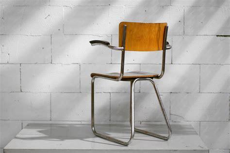 elma van der stoel gispen retro vintage buisframe bakelieten armleggers stoel