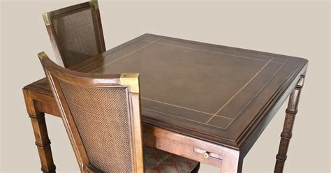 uhuru furniture collectibles vintage bridge table with