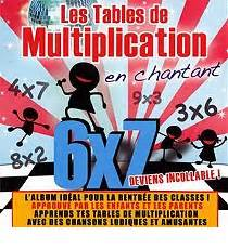 apprends les tables de multiplication en chantant cd 201 ducatif espace culturel e leclerc