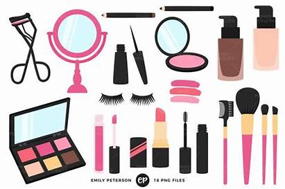 Makeup Clip Clipart Beauty Artist Girly Commercial