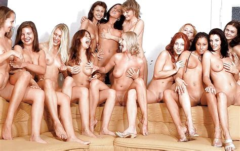 With Lots Of Titty Touching Group Of Nude Girls