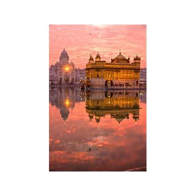 The Golden Temple Amritsar India - Map Video Location