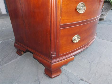 American Cherry Bow Front Chest Of Drawers. Rhode Island. Circa 1780 For Sale At 1stdibs Unique Drawer Handles Eastlake Pulls Cash Trays For Drawers Fridge Uk Malm Divider Cart With Rv Latches Heavy Duty Cabinets